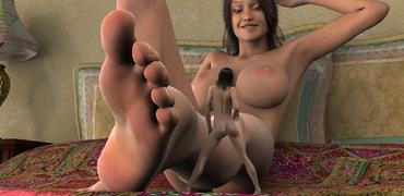 Shrunken Woman