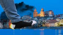 Wanderung in Italien